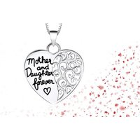 From £6 for a mother and daughter heart necklace - one or two from Solo Act Ltd - save up to 76% - Fashion Gifts