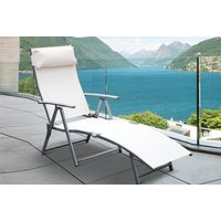 £39 instead of £90 (from Aosom) for an Outsunny reclining sun lounger - choose cream or grey and save 57% - Sun Gifts