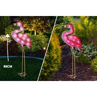 £12.99 instead of £72 (from U Are Home) for a pelican LED solar light, £14.99 for a pink flamingo light or £22.99 for a peacock light - save up to 82% - Garden Gifts