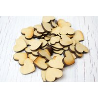 £1 instead of £14.99 (from Personalised Gifts Market) for 100 plywood heart shapes - save 93% - Personalised Gifts Gifts