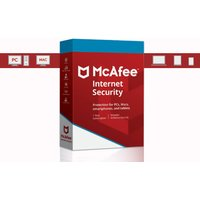 £12 instead of £21.99 (from Techy Team) for a one-year subscription of McAfee Internet Security 2018 - save 45% - Internet Gifts