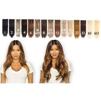 £22 instead of £220.87 for a seven-piece 22 inch clip-in hair extensions set - choose from 15 colours from Shop Chainz - save 90% - Shop Gifts