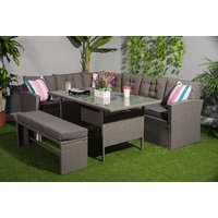 a 10-seater rattan outdoor furniture set, or £499 to include a cover - save up to 51%