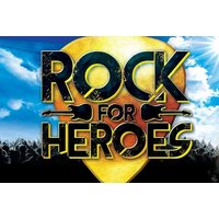 £13 instead of £20 for a ticket to Rock for Heroes on the 12th April at The Cresset Theatre, Peterborough - save 35% - Musical Gifts