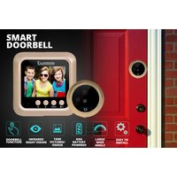 £29 instead of £115 (from Buy Something) for a HD wireless video doorbell with night vision - save 75% - Photography Gifts