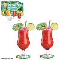£7.49 instead of £23.99 for a strawberry daiquiri cocktail gift set from Ckent Ltd - save 69% - Strawberry Daiquiri Gifts