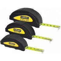 £7.99 instead of £27.99 for a rolson 3 piece measuring tape set from Ckent Ltd - save 71% - Diy Gifts