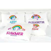 £3.99 instead of £14.99 (from Personalised Gifts Market) for a kids personalised unicorn pillowcase - save 73% - Personalised Gifts Gifts