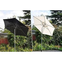 £19.99 instead of £69.99 for a two-metre aluminium garden patio parasol umbrella - choose from two colours from SHS Trading Ltd - save 71% - Umbrella Gifts