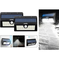 £16 instead of £31 (from Zoozio) for two LED motion sensor solar lights - save 48% - Lights Gifts
