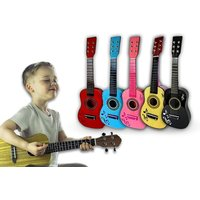 """£9.99 instead of £26 (from Eurotrade) for a 23"""" children's wooden acoustic guitar - choose from two colours and save 62% - Wooden Gifts"""