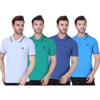 £7.99 for a men's realm tipped polo shirt - choose from seven colours from Bluebell Retail Ltd - Polo Gifts