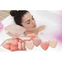 £4.99 instead of £19.99 for 10 heart bath bombs from Ckent Ltd - save 75% - Bath Gifts