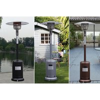 £79 instead of £299.99 for an outdoor gas patio heater from FDS CORPORATION - save up to 74% - Outdoor Gifts