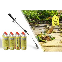 From £12.99 for a weed burner - with four or eight gas canisters from Black Feather  - save up to 81% - Weed Gifts