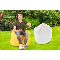 £16.99 (from Bean Lazy) for an outdoor cotton beanbag - choose from 12 colours - Beanbag Gifts