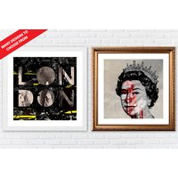 From £6.95 instead of £69 (from ARTF.LY) for a framed iconic British print - choose from two sizes and save up to 90% - British Gifts