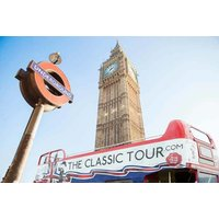£9 for a child's ticket, or £13 for an adult ticket for the open top routemaster Classic Tour of London - save up to 40% - Adult Gifts