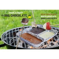 £4.99 instead of £17.01 (from Martin's Chocolatier) for a 300g chocolate barbecue dip kit, £8.99 for two kits, or £14.99 for four - save up to 71% - Barbecue Gifts