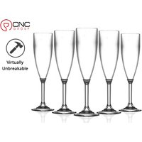 £9.99 instead of £18.96 (from CNC Group) for a set of four champagne flute glasses or £24.99 for 12 glasses - save up to 47% - Glasses Gifts