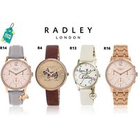 From £29.99 (from Brand Arena) for a ladies Radley watch - choose from 16 designs and save up to 70% - Radley Gifts