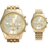 £109 (from Cheap Designer Watches) for a men's Michael Kors gold Lexington chronograph watch - Cheap Gifts