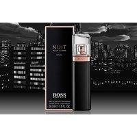 £32 instead of £48.01 for a BOSS Nuit Intense Pour Femme eau de parfum 50ml from Deals Direct - save 33% - Fragrance Gifts