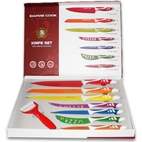 From £7.99 for a six or eight-piece colourful kitchen knife set from Bright Associate Doctor Limited - save up to 80% - Cutlery Gifts