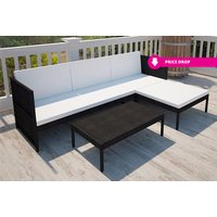 £149 instead of from £470 (from Vida XL) for a three-seater outdoor rattan lounge set - save 62% - Outdoor Gifts