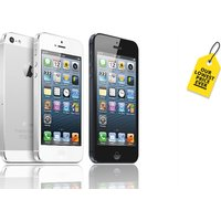 a refurbished 16GB Apple iPhone 5, or £99 for a 32GB model - choose from two great colours and save up to 59%