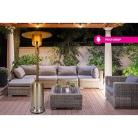 an outdoor gas patio heater  save 76%