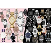 £10 (from Brand Arena) for a mystery watch deal for him or her - Tag Heuer, Gucci, Radley, MK, Kahuna, FCUK, Daniel Wellington, Armani, Ted Baker & More! - Radley Gifts