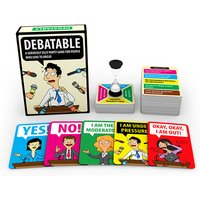 £12 instead of £19.99 (from Squizzas) for a 'Debateable' party game - save 29% - Game Gifts