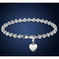 £16 instead of £109 for a a crystal chain link bracelet with choice of charm's from Your Ideal Gift - save 85% - Charms Gifts