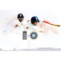 £26 for a child's ticket to see the England v India Test Match on 1st or 2nd August, or from £56 for an adult's ticket at Edgbaston Cricket Stadium, Birmingham - India Gifts