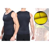 £6.99 instead of £39.99 for a men's neoprene slim shaper sport vest from My Blu Fish - save 83% - Sport Gifts