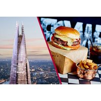 £89 for entrance for two to The View from The Shard plus three-course dining and a glass of Prosecco each at Marco Pierre White's New York Italian from Buyagift - treat a loved one to delicious food and a fantastic view! - Glass Gifts