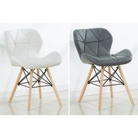 a Roma Eiffel single chair, £55 for a twochair set, £105 for a fourchair set choose your colour and save up to 58%.