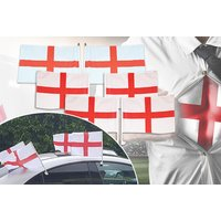 £5.99 instead of £17.00 (from Squizzas) for a World Cup England flag pack - save 65% - World Cup Gifts