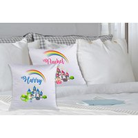£3.99 instead of £19.99 (from Deco Matters) for one personalised kid's cushion cover, £6.99 for two – choose from two designs and save up to 83% - Cushion Gifts