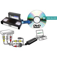 £8 instead of £24.99 (from Ugoagogo) for a USB VHS to DVD converter with video-editing software - save 68%