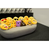 £6 instead of £14.99 for an emoji cushions - choose from 14 designs from London Exchain Store - save 60% - Cushions Gifts