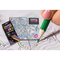 From £3.98 for an adult colouring therapy book and pencils from London Exchain Store - save up to 73% - Adult Gifts