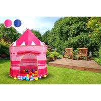 £9.99 instead of £29.99 (from Fusion Online) for a kids' play tent - choose princess castle or wizard designs and save 67% - Garden Gifts