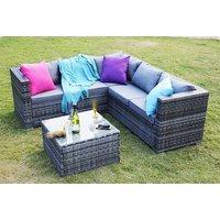 a fiveseater Yakoe Monaco modular durable polyrattan corner sofa set  save 69%