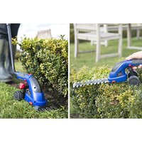 cordless hedge trimmer and grass cutter garden tool  save 64%