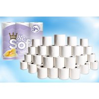 From £18.99 for 45 or 90 (£32.99) three-ply So Soft toilet rolls & 24 ultra kitchen rolls from Global Merchant Support - save up to 59% - Soft Gifts