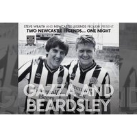 £39 for a standard ticket to An Evening with Paul Gascoigne and Peter Beardsley on 21st September, £69 for a VIP ticket or £139 for a VVIP ticket with Newcastle Legends - save up to 35% - 21st Gifts