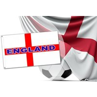 £1.99 instead of £6.99 (from Eurotrade) for a large 5' x 3' England flag - save 72% - England Gifts