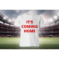 £5.99 instead of £19.99 (from Groundlevel) for an England 'It's Coming Home' World Cup t-shirt, £14.99 for three, or £19.99 for five - save up to 70% - World Cup Gifts